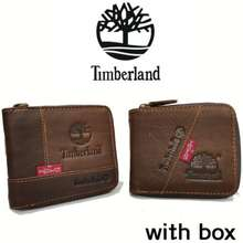 Timberland Ts | Men Wallet Leather (With Box)Lelaki Dompet Smart Quality Baik Gift 男士短版钱包