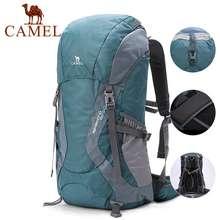 Camel Outdoor Hiking Bag 60 Liters Large Capacity Hiking Backpack Super Waterproof Travel Backpack