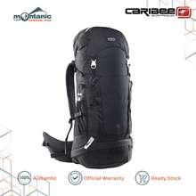 Caribee New Frontier 65 Rucksack - Waterproof Travel Backpack Trekking Hiking Bag
