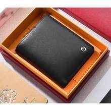 Goldlion 2020Aug - Black Vertical Short Wallet For Men