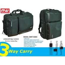 """BoomWave 3 Way Carry Convertible Series 15"""" Business Laptop Bag Cs-003"""