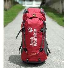 Jack Wolfskin [Readystock] Jackwolfskin Gold Beetle 60 Hiking Backpack Outdoor Bagpack Travel Bag