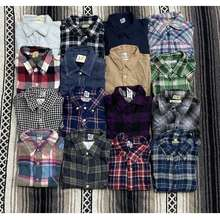 Branded Murah Preloved Flannel Kemeja Flannel Bundle Japan Usa Boyfriend Shirt Corduroy Shirt Unisex Shirt