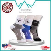 VICTOR Ready Stock Perfect Dry Badminton Socks Tennis Socks Squash Crew Socks Sarung Kaki