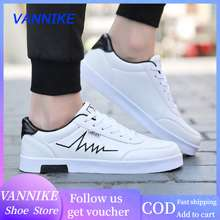 Jeep Vannike High Quality Men Canvas Sneakers Fashion White Shoes Casual Lacu-Up Sneakers Men Sports Shoes
