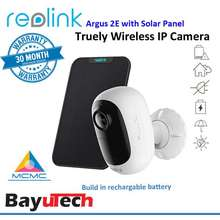 Reolink Argus 2E 100% Wire-Free 1080P Wireless Battery-Powered Security Ip Cctv Camera