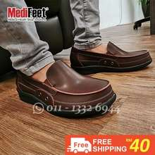 Medifeet * M178B Health Shoes(Kasut Kesihatan)*Men Shoe Arch健康鞋Medical