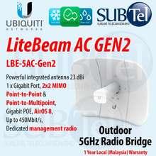 Ubiquiti Lbe-5Ac-Gen2 Litebeam Ac 5 Ghz Point To Point Ptp Ptmp Radio Bridge Ubnt Airmax Ac Antenna