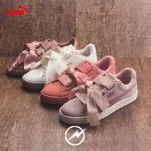 Puma *Free Shipping* Suede Bow Sneakers Rihanna Shoes Women'S Shoes
