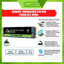 Seagate Livetech 250Gb Barracuda 510 M.2 Pcie Nvme Internal Ssd