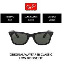 Ray-Ban Wayfarer Unisex Full Fitting Polarized Sunglasses (54 Mm) Rb2140F 901/58