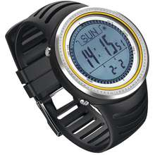 SUNROAD [Ready Stock In Malaysia] Fr802A Grey Altimeter Barometer Compass Stopwatch Pedometer Sport Watch