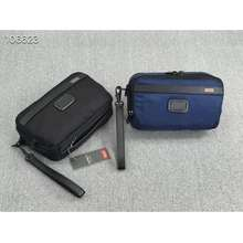 Tumi 12180 Alpha Series Travel Style Zipper Clutch Bag For Men Free Shipping