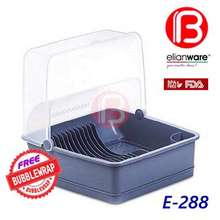 Elianware (B Boss) E-288 Extra Large Dust Free Dish Rack Dish Drainer With Cover (Century 6881 6880 6877 6880/2 6880/3)