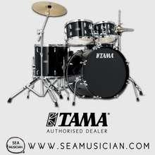 Tama Stagestar 5-Pcs Drumset Black Sg52Kh6 Bk (Stage Star / Stage-Star)