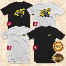 Valentino 46 T-Shirt Men Women Unisex Tee Casual Motor Sport - Idean S612